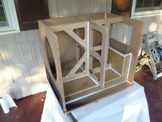 Diy Subwoofer, Subwoofer Box Design, Speaker Plans, Wood Veneer, Types Of Wood, End Tables, Theater, Pvc Pipe, How To Plan