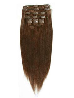 I&K Clip in Straight Hair (REDDISH CHOCOLATE BROWN) These bad boys are making their way to me, yay!