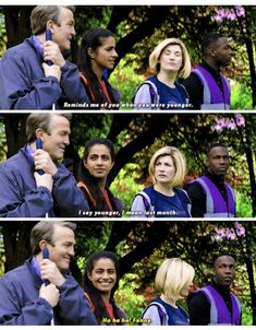 """Doctor Who """"Kerblam! Doctor Who Funny, Doctor Who 10, 13th Doctor, Rose And The Doctor, Captain Jack Harkness, I Still Love Him, Rory Williams, Torchwood, Dr Who"""