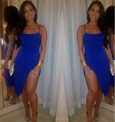 Electric Blue Dress!