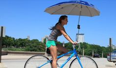 Guarda sol de bicicleta