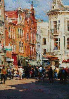 Ciudades - Pinturas de Dmitri Danish 8