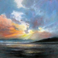 Hebridean Sky Study 2 by NaismithArt (print image)
