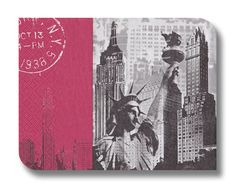 New York decoupage paper napkin serviette x 1. For por StitchBomb