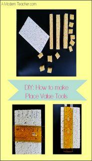 Classroom DIY: DIY Place Value Manipulatives