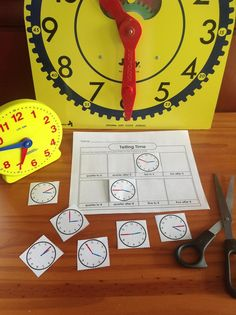 Check out our telling time games and activities!