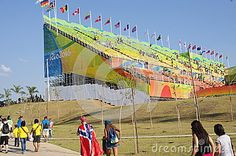 The Olympic BMX Centre during Rio2016 Summer Olympic Games in Rio de Janeiro, Brazil. Photo taken on Aug 17th, 2016
