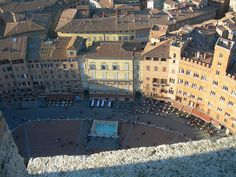 Sienna, Italy - One of the coolest public squares that I have ever been to.