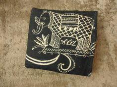 Handmade Fabric Tea Holder Wallet / Sugar Packet by MyCuteWallet