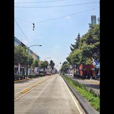 """@gabrielbeas's photo: """"Qué delicia de calle! Bien por la humanización del DF! Ejemplo a seguir! #df #mexico #mexicociy #wegrammexico #igersmexico #urbanismo #ciudad #urbanism #visitmexico"""""""