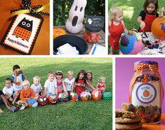 Cute Halloween party ideas.