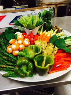 Colorful Crudites make any party fun! www.twounique.com