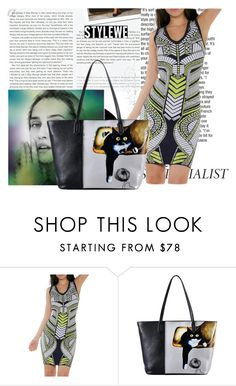 """""""Stylewe 11"""" by difen ❤ liked on Polyvore featuring Stop Staring!"""