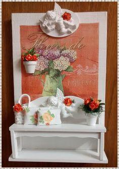 Quadro Rustico Jardim -Fleurs Provance