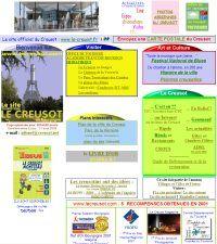 Le site touristique du Creusot - Page d'accueil