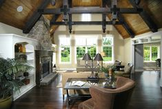 Livingston Visbeen Architects Inc Wood Ceilings