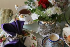 The Aubrey Rose Tea Room in La Mesa, San Diego.    I've been looking for a tea room here in SD for the longest time. :)