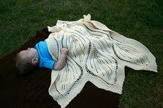 Ravelry: Baby Falling Leaves Blanket pattern by Jenise Reid