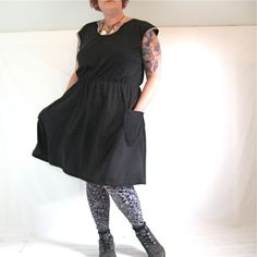 HissyFit's RiotLady Dress: plus size, handmade, custom made - HissyFit: 'cus it's not your body, it's your clothes that suck