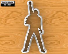 This original and printed cookie cutter is great not only for cookie or play dough, but also for soft sorts of cheese or fondant. Freddie Mercury Quotes, Queen Freddie Mercury, Custom Cookie Cutters, Custom Cookies, Play Doh, Freddie Mercury Birthday, Royal Recipe, 3d Printing Technology, Somebody To Love