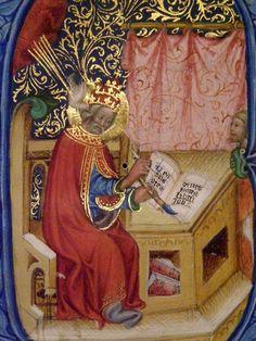 Gregorius Magnus, Moralia in Job. Prag, um 1397/1400.