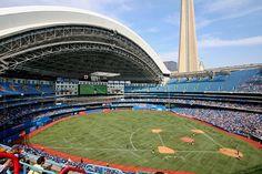 Rogers Centre, home of the Toronto Blue Jays.  Toronto, Ontario.