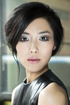 Liu-Wen this look makes her eyes look much bigger