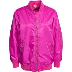 Pink Flight Jacket - JacketIn