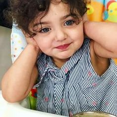 And how pretty is your messy hair with those gorgeous eyes💙 Cute Little Baby Girl, Cute Baby Girl Pictures, Baby Girl Images, Little Babies, Pretty Kids, Cute Kids, Cute Baby Girl Wallpaper, Cute Babies Photography, Photography Poses