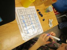 Tons of daily five math activities.
