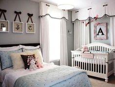 Veja como usar letras na decoração do quarto do bebê de forma delicada!