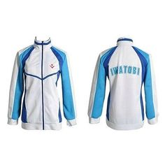 Free! Iwatobi Swim Club Haruka Nanase School Sprot Coat/Jacket Cosplay Costume