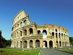 Visit the Colosseum in Rome, Italy. One of the seven wonders of the world (fulfilled in 1993).