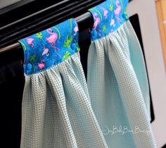 Flamingo Küchentuch, Hängenden Ofen Handtuch, Flamingo Dekoration,  Geschirrtuch, Strand Küche, Sommerküche, Einweihungsparty, Geschenk