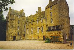 Kellie Castle, located outside Arncroach, north of Pittenweem in the East Neuk of Fife, Scotland