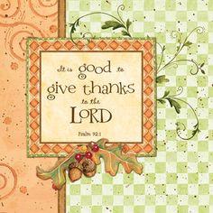Thankful for God's Amazing Grace!