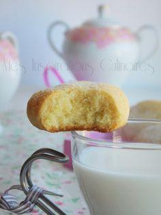 """Les """"Helenettes"""": Biscuits Moelleux aux Jaunes d'Oeufs"""
