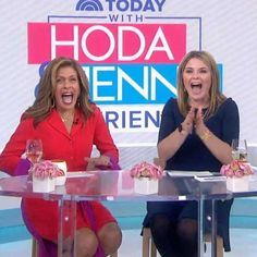 Jenna Bush Hager, Kathie Lee Gifford, Hoda Kotb, Megyn Kelly, Here's The Thing, I Want To Cry, Dreams Do Come True, City That Never Sleeps, First Daughter
