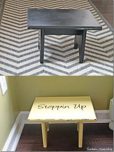 Chalk paint finish project using Webster's chalk paint powder. Turns any paint into chalk paint.