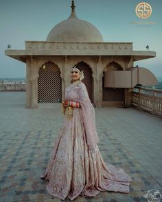 Pink Lehenga, Bridal Lehenga, Bridal Wardrobe, Indian Bridal Fashion, Asian Fashion, New Blouse Designs, Bridal Outfits, Bridal Dresses, Lehenga Designs