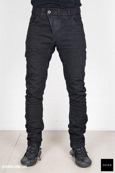 Boris Bidjan Saberi BBS P13R-F162M 585 € | Seven Shop Black Jeans, Fall Winter, Pants, Shopping, Fashion, Trouser Pants, Moda, Fashion Styles, Black Denim Jeans
