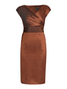 maxmara pianoforte Visino capped sleeve dress copper so cute for teaching!!