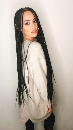 White Girl Braids, Blonde Box Braids, Short Box Braids, Girls Braids, Box Braids Hairstyles For Black Women, Braided Ponytail Hairstyles, African Hairstyles, Afro Hairstyles, Updo Hairstyle