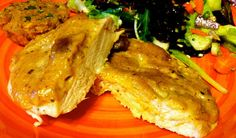 Husband Tested Recipes From Alice's Kitchen: Baked Chicken Breasts with Mango Chutney Sauce