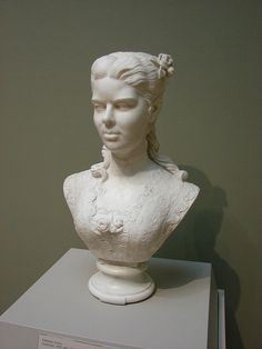 Portrait of a Woman by African American Woman Artist, Edmonia Lewis, 1873 by Christopher Busta-Peck, via Flickr