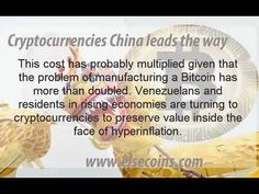 Cryptocurrencies China leads the way