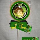 Ben 10 Alien Force Chocolate Lollipop or Cookie Favor