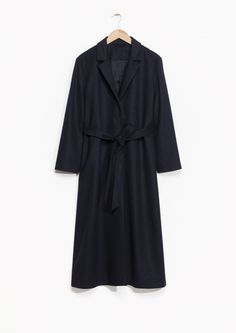 & Other Stories | Long Waisted Wool Coat