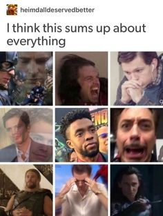 I think it does sum everything up. - Funny Superhero - Funny Superhero funny meme - - The Marvel fandom The post I think it does sum everything up. appeared first on Gag Dad. The Marvel fandom Avengers Humor, Marvel Jokes, Marvel Comics, Funny Marvel Memes, Dc Memes, The Avengers, Marvel Avengers, Funny Memes, Hilarious
