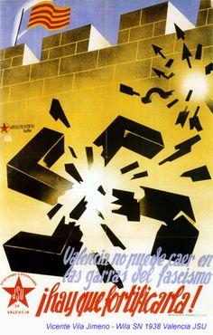 Spain - 1938. - GC - poster - autor: Vicente Vila Gimeno